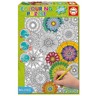Colouring Big Beautiful Blossoms