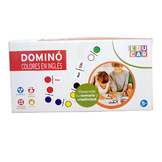Domino Colores en Ingles