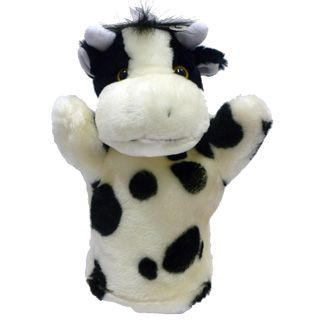 Títere Plush Pups Chico Vaca
