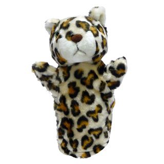 Títere Plush Pups Chico Leopardo