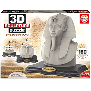 3D Sculpture Puzzle Tutankhamon