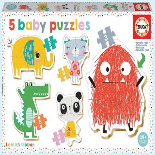 Baby Puzzles Lemon Ribbon